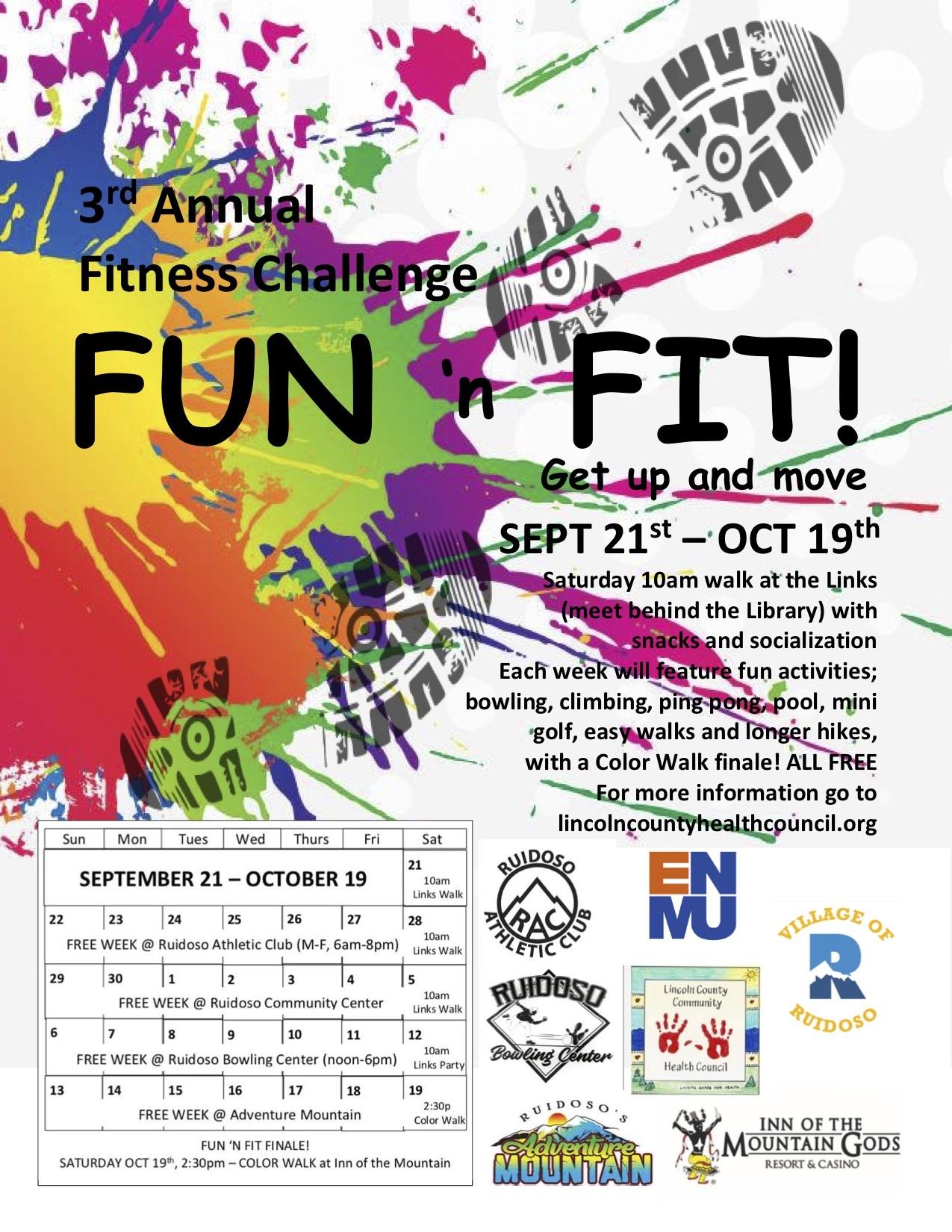 Fitness Fun Poster (1)