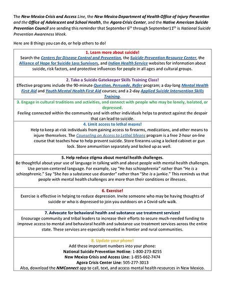2020_09.04 Partners memo for SP Awarenes