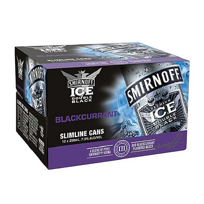SMIRNOFF BLACKCURRANT 12PK CANS