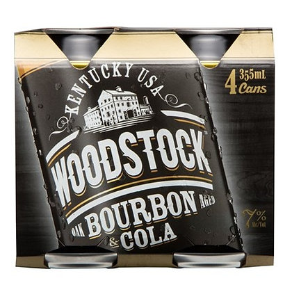 WOODSTOCK 7% 6X4PK 355ML CANS
