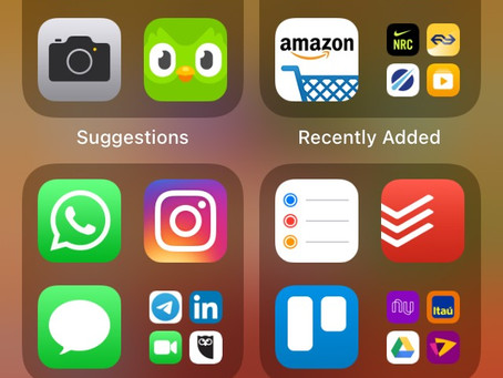 iOS14: Novidades de Organização
