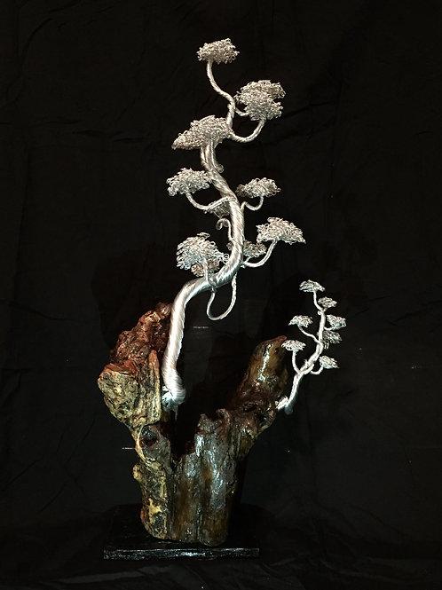 Swirling Silver