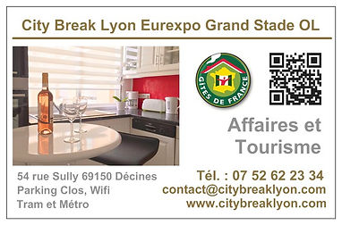 City Break Lyon Eurexpo Grand Stade OL