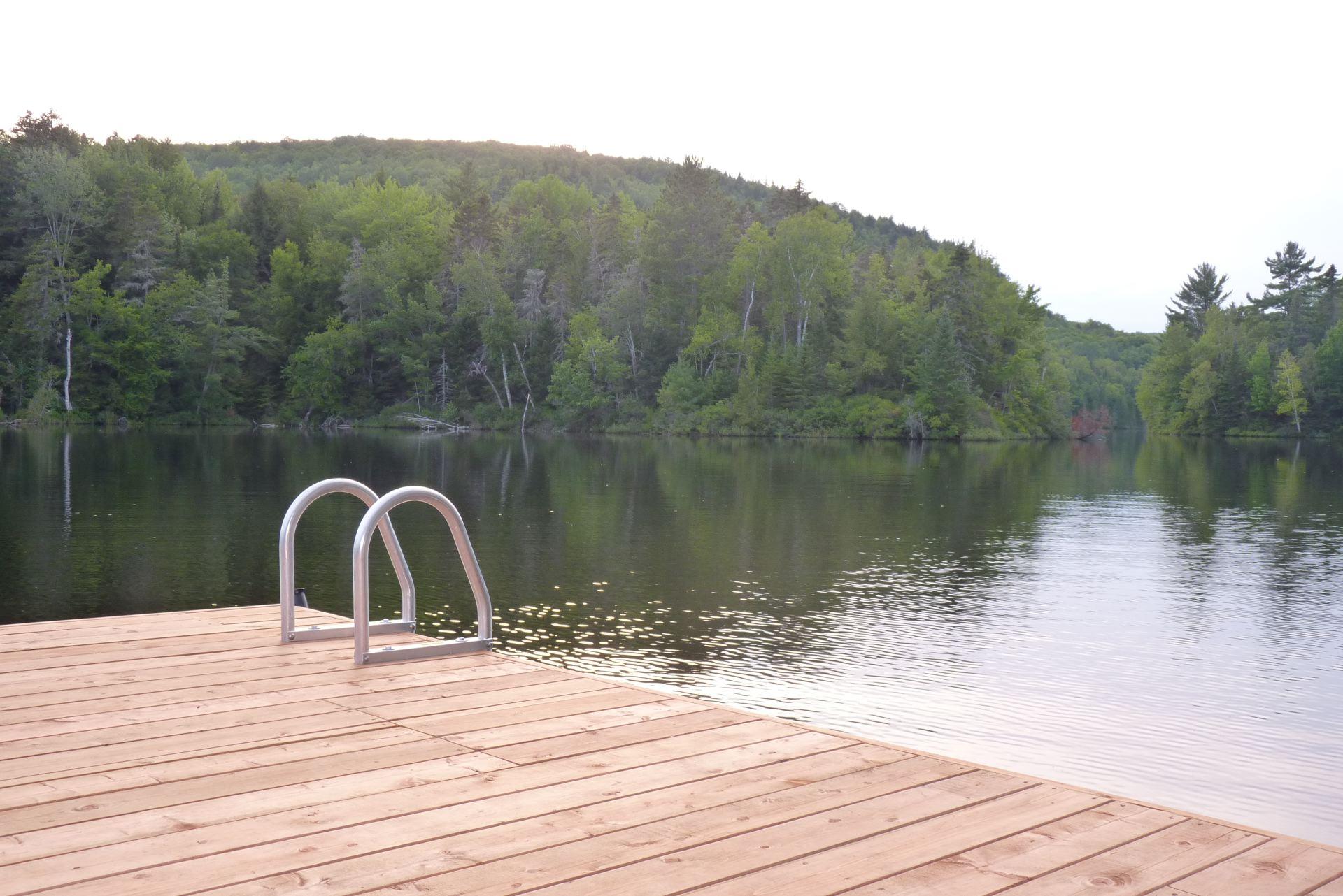 Lac depuis le Quai