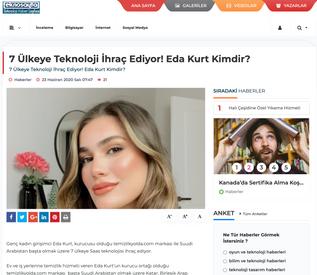 Eda Kurt TeknoSayfa.com Haberi