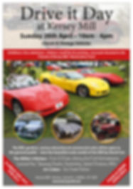 Kersey Mill Drive It Day 2020 A4 poster
