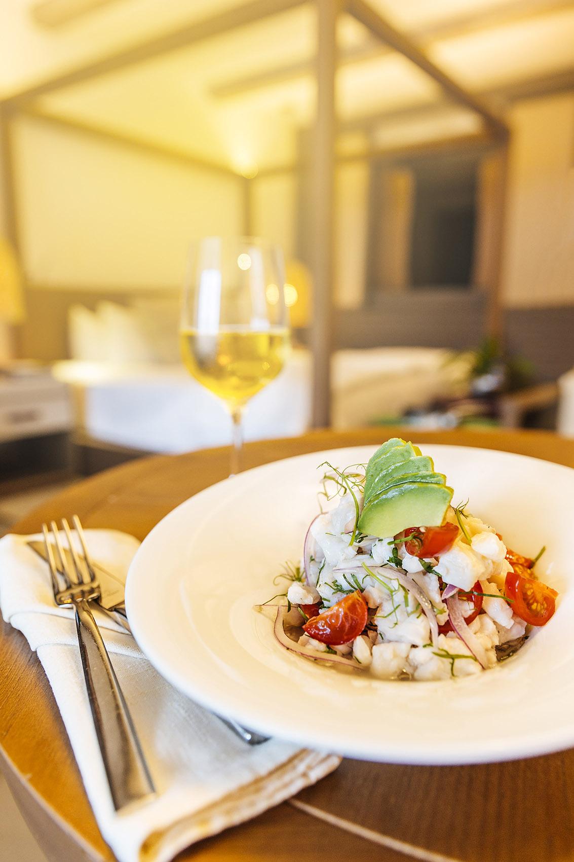 UNICO HOTEL Riviera maya menu