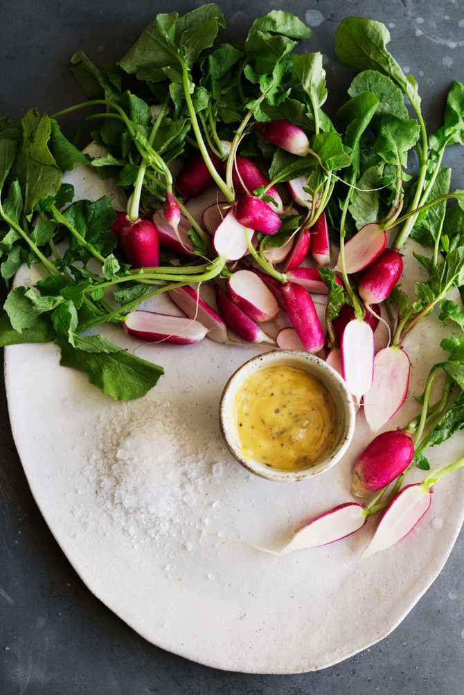 Pink & Peppery - radical radishes