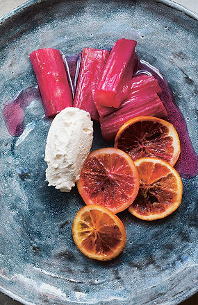 Rhubarb & Blood Oranges