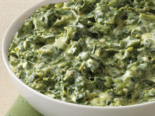 Saint Lucifer Jalapeno Creamed Spinach