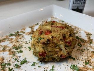 Saint Lucifer Philly Style Crab Cakes