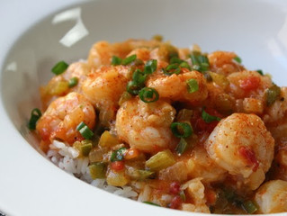 Saint Lucifer Cajun Shrimp Etouffee