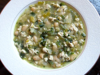 Saint Lucifer Turkey and White Bean Chili