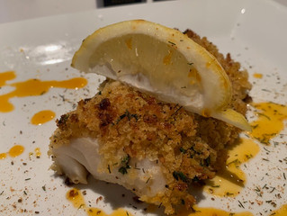 Saint Lucifer Panko Crusted Baked Cod