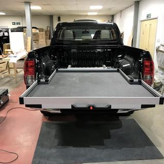 Pickup Vehicle Sliding Drawers