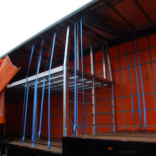 Roof Retractable Load Securing System