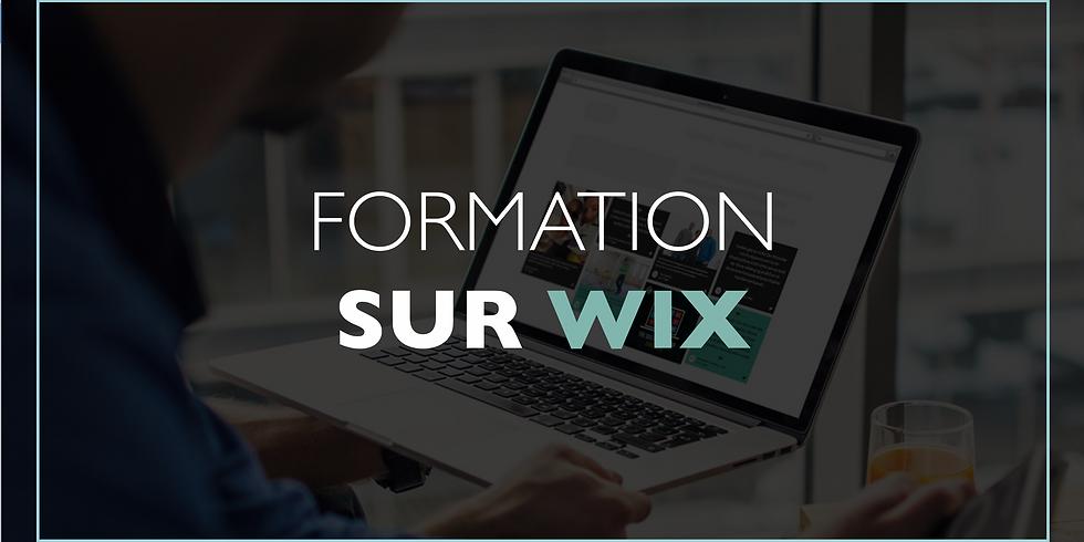 Formation sur Wix 101