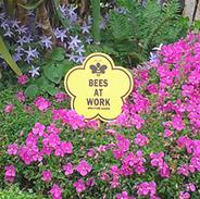 BeesAtWk-sign 20cm