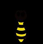 Honey bee black & Yellow.png