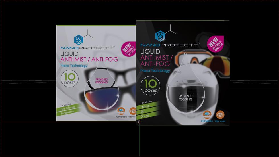 NANOPROTECTPLUS Liquid Anti mist/Fog Nov 17