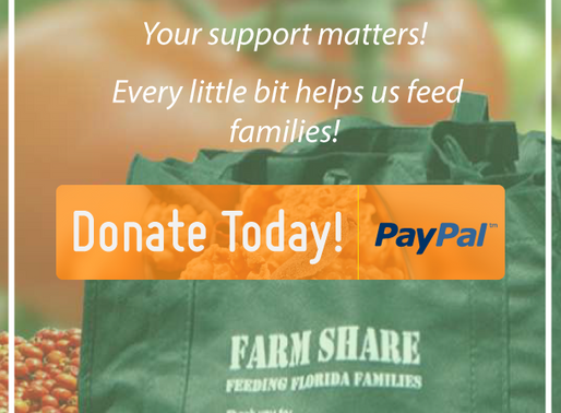 So Many Ways to Give Back Through Farm Share, Inc.