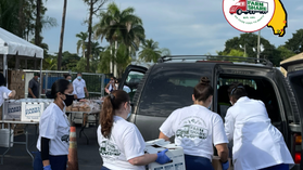 South Florida Food Distributions in December 2020