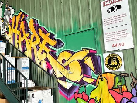 Farm Share Breaks Into Color Mural