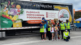 Farm Share, Florida Milk Farmers & Miami Children's Museum Celebrate Health Day!