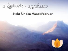 2. Rauhnacht 25./26.12.