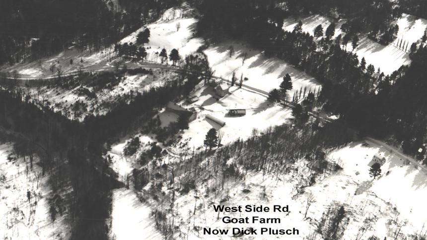 West Side Road - Goat Farm - now Richard & Prudy Plusch