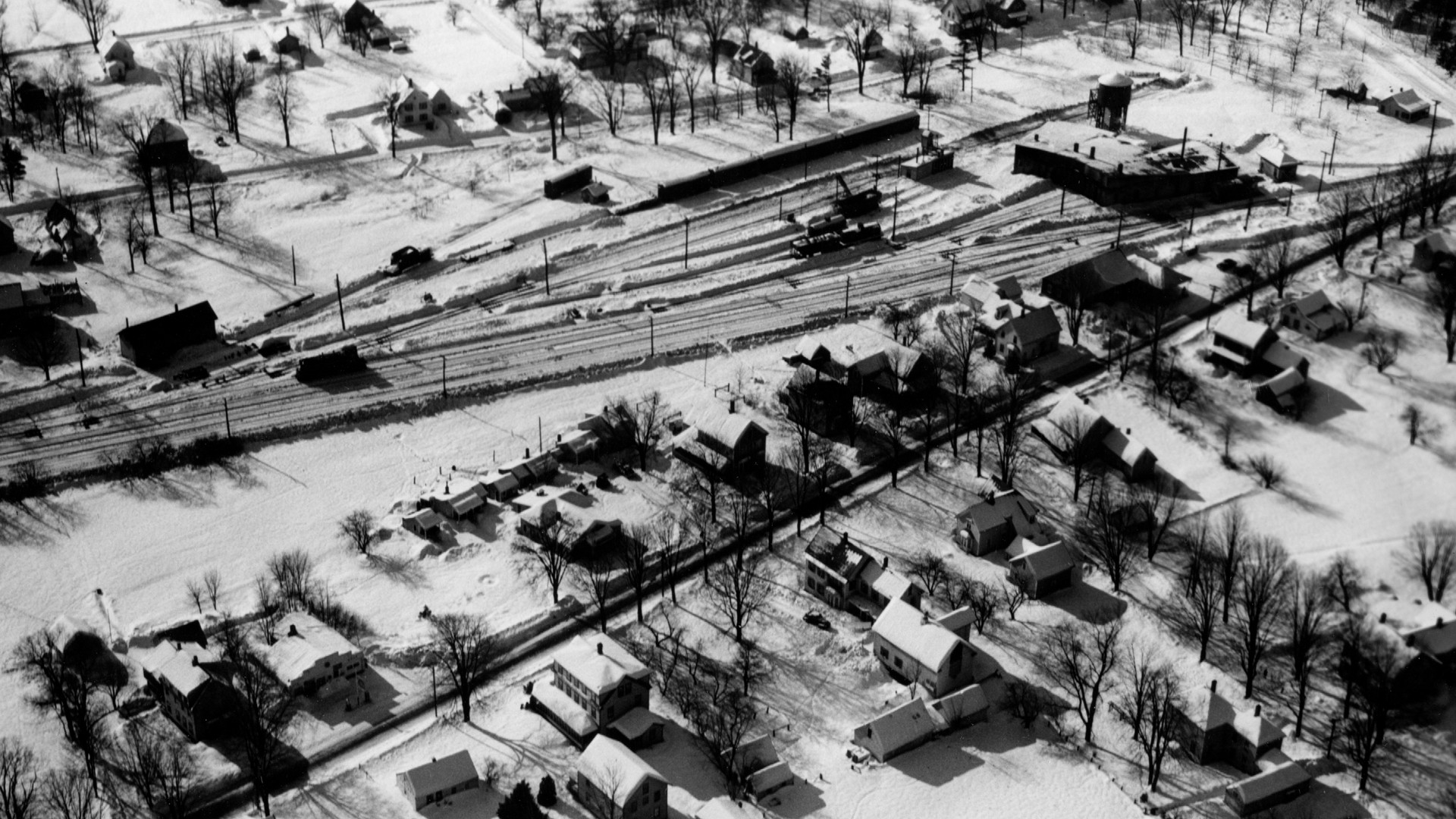 Village Area - Railroad yard