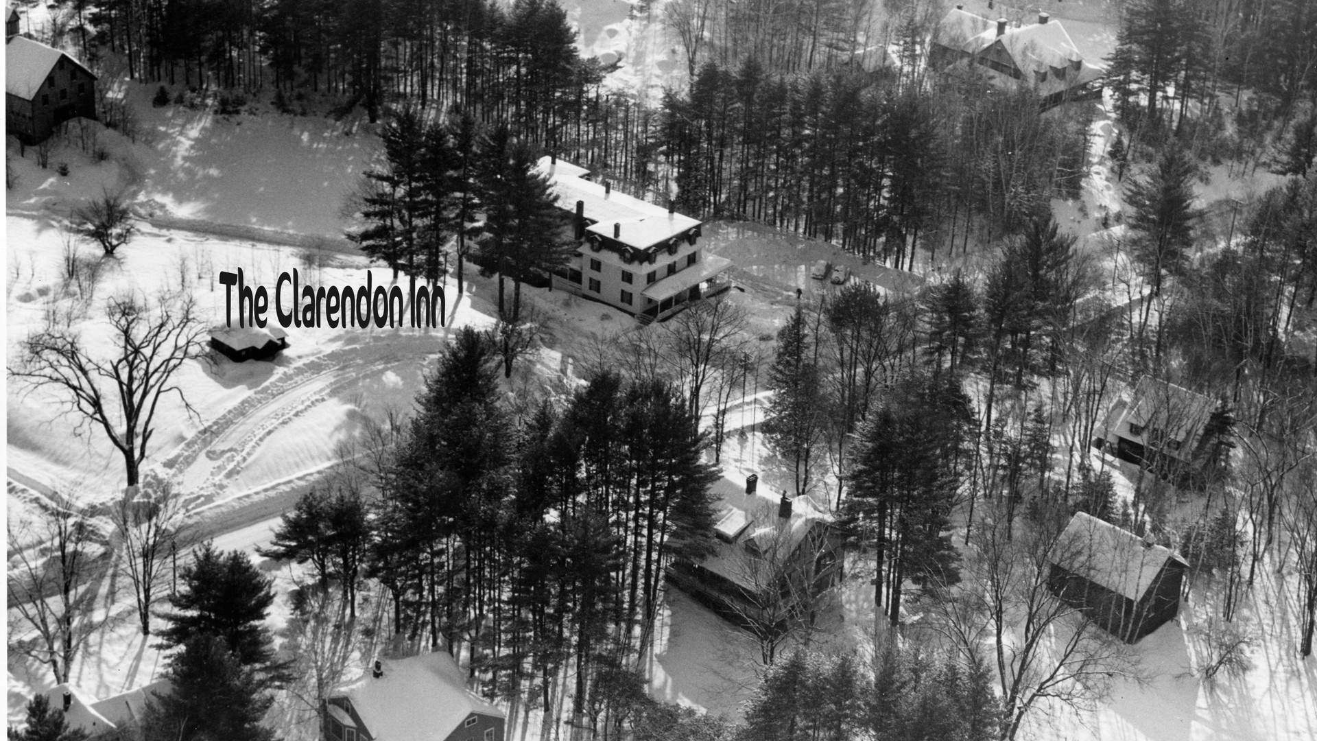 Intervale -  Clarendon Area (actually North Conway)  The Clarendon burned, early 1960's