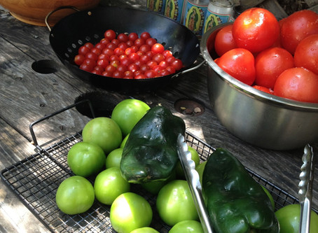 Interview with Chef Andria: The Salsa Lady