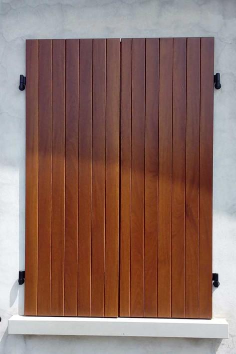 anta perlinata doppio fusto legno esterno