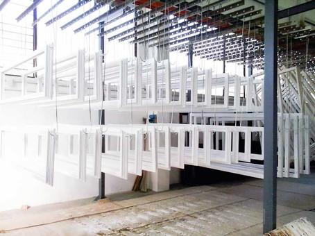 verniciatura finestre legno laccato