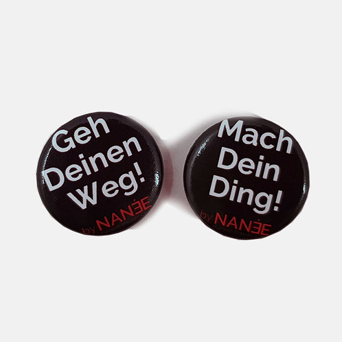 Ansteck-Buttons