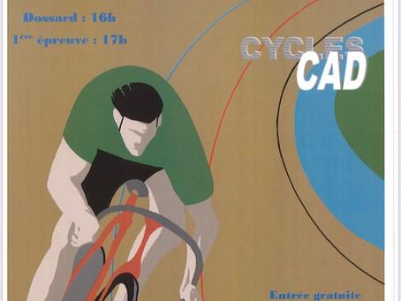 RENDEZ-VOUS SAMEDI 24 JUILLET POUR LA 4ème MANCHE DU CHALLENGE DES CYCLES CAD !