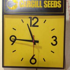 1980's Cargill Seeds Clock