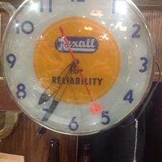 Rexall Telechron Clock