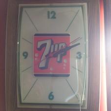 1960's 7-up Clock