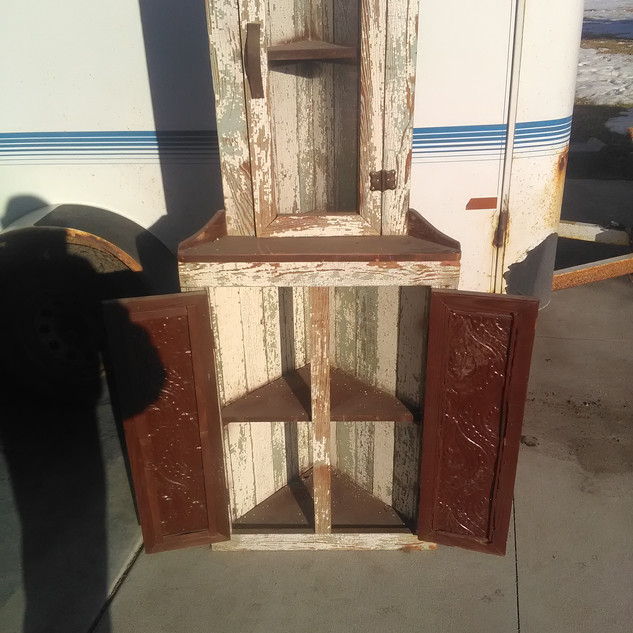 Decorative Corner Cabinet