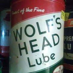 Wolf's Head Gear Lube