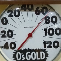 O's Gold Thermometer