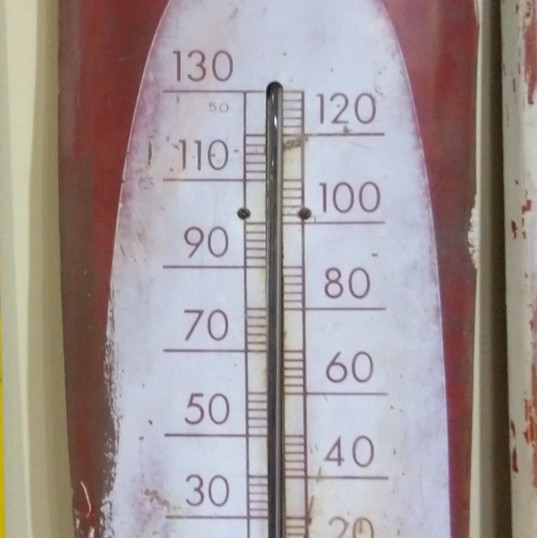 Coca-Cola Cigar Thermometer