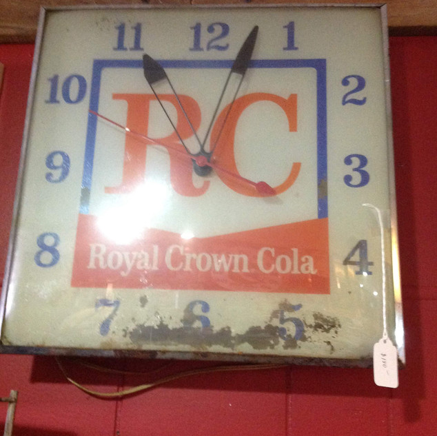 1960's Royal Crown PAM Clock