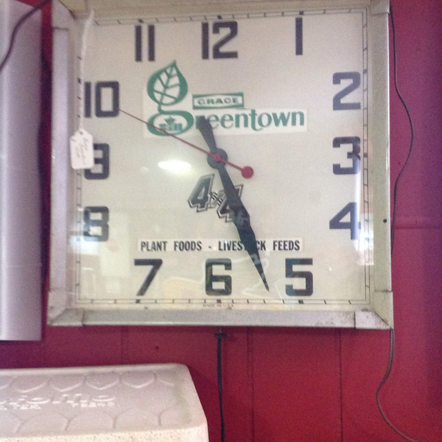 Grace Greentown  Clock