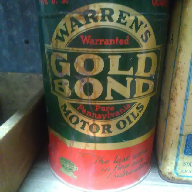 Warren's GOLD BOND Motor Oil