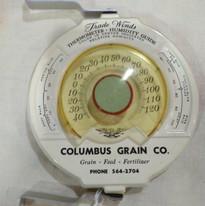 Columbus, Ne Grain Co. Thermometer