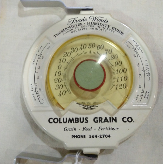 Columbus, Ne Grain Co. Thermometer