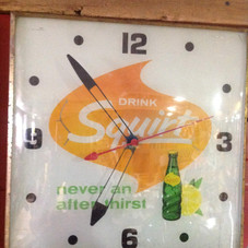 1960's Squirt PAM Clock